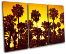 Palm Trees Sunset Seascape - 13-0965(00B)-TR32-LO